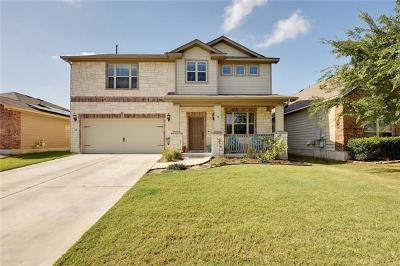Hutto Single Family Home For Sale: 105 Yukon Cv