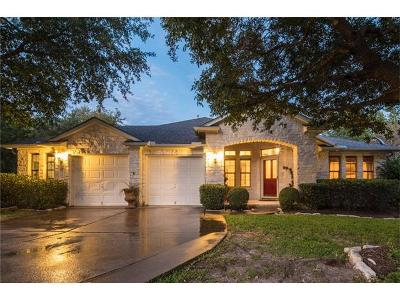 Cedar Park Single Family Home For Sale: 1501 Menteer Dr