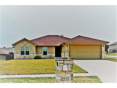 Coryell County Single Family Home For Sale: 1513 Indian Camp Trl