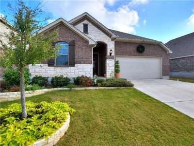 Leander Single Family Home For Sale: 1004 Hartman Dr