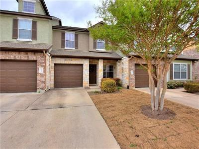 Cedar Park, Leander Condo/Townhouse For Sale: 1900 Little Elm Trl #69