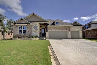 Cedar Park Single Family Home For Sale: 604 Glacial Stream Ln