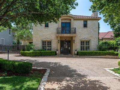 Austin TX Single Family Home Pending - Taking Backups: $1,200,000