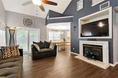 Round Rock Single Family Home For Sale: 1708 Chinati Mountain Trl