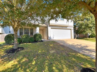 Round Rock Single Family Home Pending - Taking Backups: 3645 Texana Loop