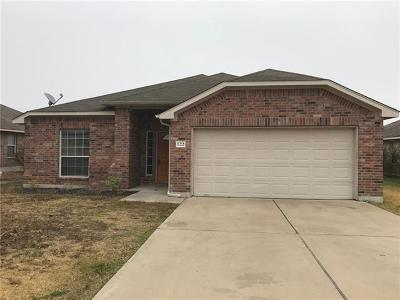 Hutto Single Family Home For Sale: 122 Campos Dr