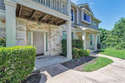 Austin Condo/Townhouse For Sale: 1900 Scofield Ridge Pkwy #5501