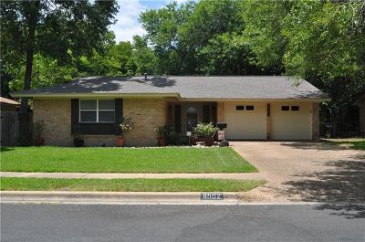 Austin Single Family Home For Sale: 8502 Millway Dr
