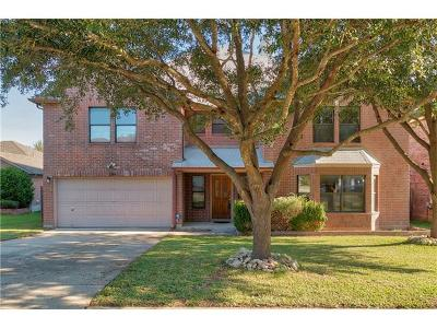 Cedar Park Single Family Home For Sale: 1506 Somerset Canyon Ln