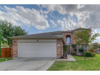 Round Rock Single Family Home For Sale: 2909 Golden Creek Cv