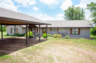 Bastrop County Single Family Home For Sale: 151 Alum Creek Rd