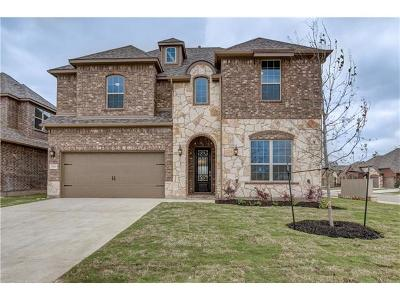 Leander Single Family Home For Sale: 1300 Mustang Brook