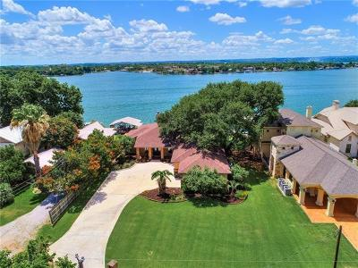 Sunrise Beach TX Single Family Home For Sale: $1,740,000