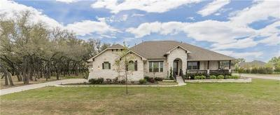 Leander Single Family Home For Sale: 2701 Great Owl Pass