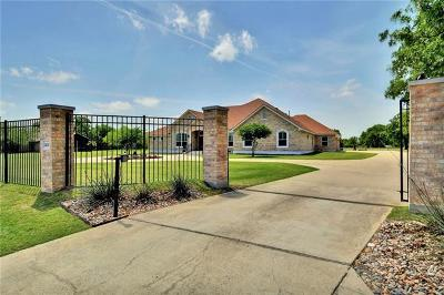 Round Rock Single Family Home For Sale: 2400 Mayfield Dr