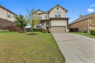 Austin Single Family Home For Sale: 114 Willow Walk Cv