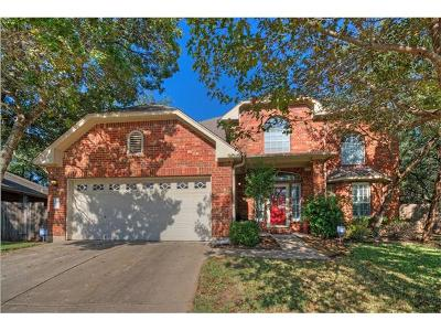 Cedar Park Single Family Home For Sale: 2311 Fairhill Cv