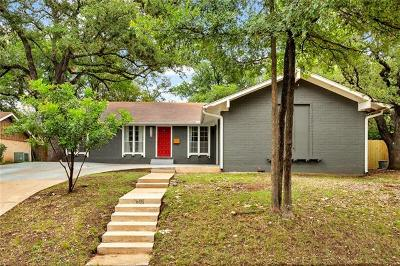 Austin Single Family Home For Sale: 7601 Long Point Dr