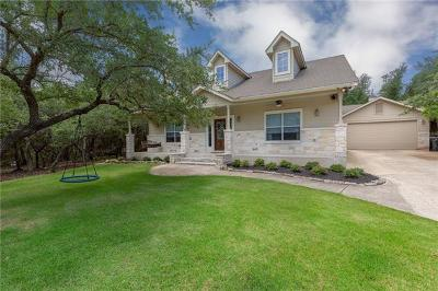 Dripping Springs Single Family Home For Sale: 10101 Twin Lake Loop