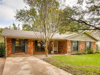 Austin Single Family Home Pending - Taking Backups: 2104 Wooten Dr