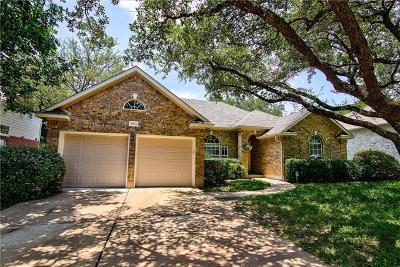 Round Rock Single Family Home For Sale: 3904 Kristencreek Ln