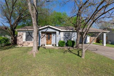 Austin Single Family Home Pending - Taking Backups: 5119 Turnstone Dr