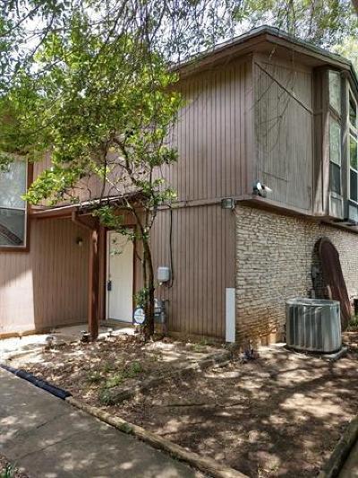 Austin Condo/Townhouse For Sale: 4806 Misty Slope Ln