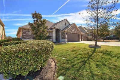 Pflugerville Single Family Home For Sale: 3312 Pasqueflower Pass