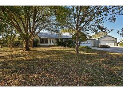 Lockhart Single Family Home For Sale: 637 Old Lytton Springs Rd