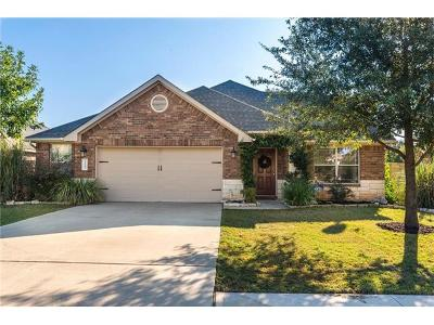 Buda Single Family Home For Sale: 1221 Talley Loop