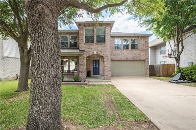 Cedar Park Single Family Home For Sale: 2004 Carriage Club Dr