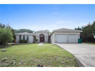 Lago Vista Single Family Home Pending - Taking Backups: 8203 Chestnut Cv