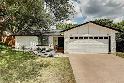 Travis County Single Family Home Pending - Taking Backups: 7304 Scenic Brook Dr