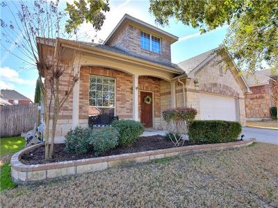 Pflugerville Single Family Home For Sale: 18929 Canyon Sage Ln