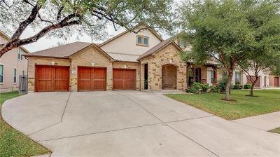 Cedar Park Single Family Home For Sale: 515 Whistlers Walk