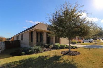 Leander Single Family Home For Sale: 2804 Amber Valley Ln