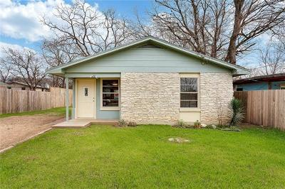 Austin Single Family Home For Sale: 1035 Lott Ave