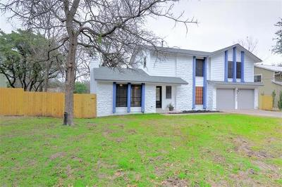 Austin Single Family Home For Sale: 3906 Tamarack Trl