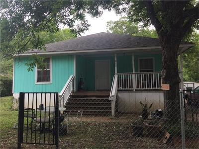 San Marcos Single Family Home For Sale: 211 Luck St