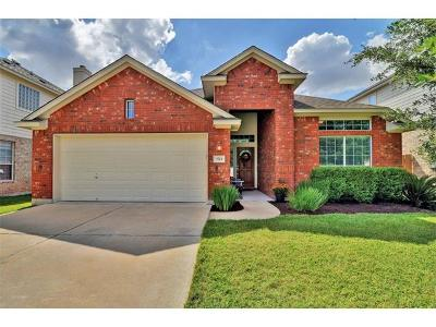 Round Rock Single Family Home For Sale: 3713 Gentle Winds Ln