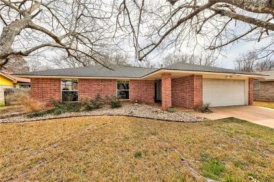 Travis County, Williamson County Single Family Home For Sale: 11903 Barrington Way
