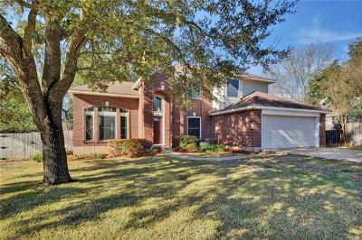 Cedar Park Single Family Home For Sale: 1208 Paint Brush Trl