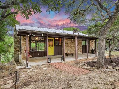 Wimberley Single Family Home Pending - Taking Backups: 2260 Sandy Point Rd