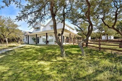 Dripping Springs Single Family Home For Sale: 621 Madrone Ranch Trl