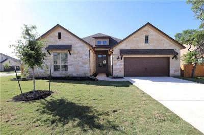 Round Rock Single Family Home For Sale: 3811 Kyler Glen Rd