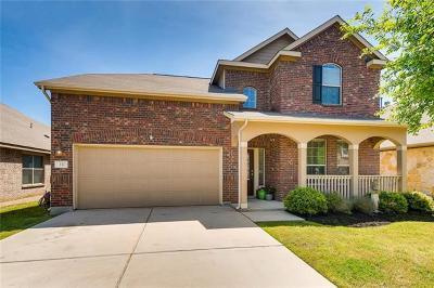 Buda Single Family Home For Sale: 332 Travertine Trl