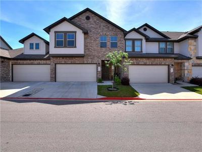 Cedar Park TX Condo/Townhouse For Sale: $319,000