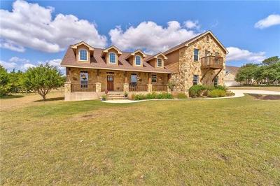 Dripping Springs Single Family Home For Sale: 266 Chama Trce