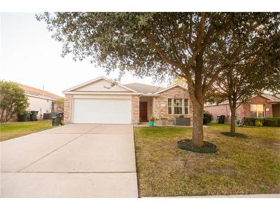Pflugerville Single Family Home Pending - Taking Backups: 813 Friendship Quilt Ln