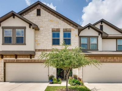 Cedar Park TX Condo/Townhouse For Sale: $315,000
